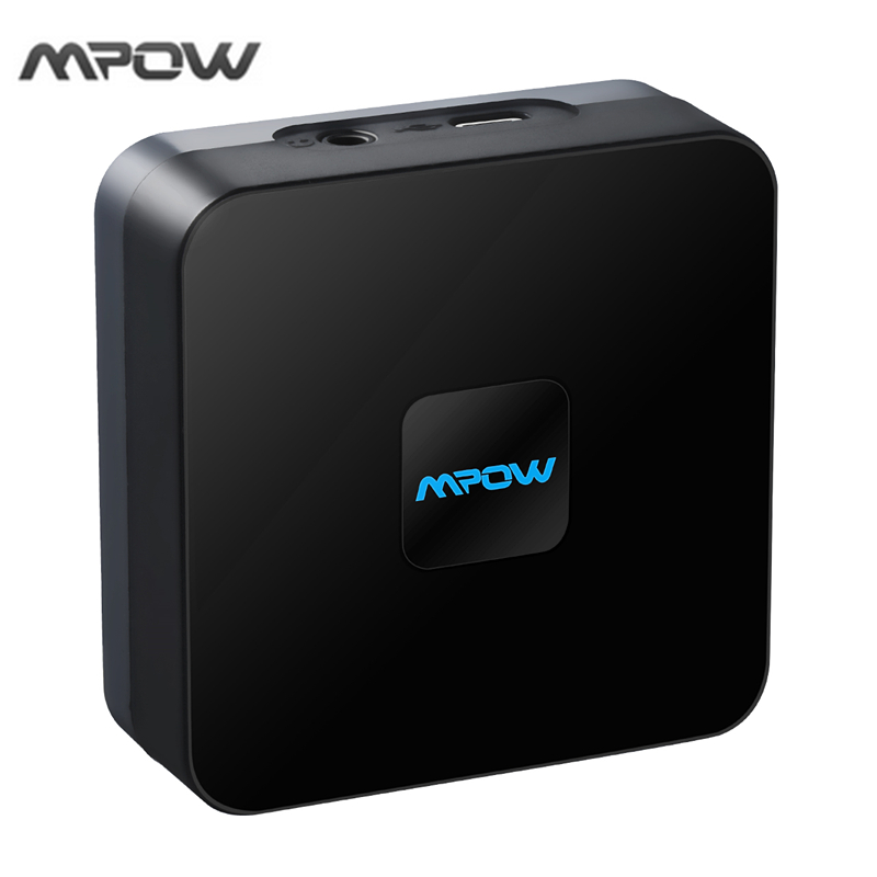 mpow wireless bluetooth 4 1 audio receiver adapter rca cable with high fidelity stereo. Black Bedroom Furniture Sets. Home Design Ideas