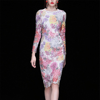 a2c882ad392d97f Product Offer. Новинка 2019 года Весна Лето взлетно посадочной полосы  дизайнерское платье ...
