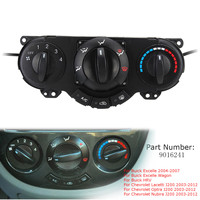 9016241 Car A/C Heater Panel Climate Control for Buick Excelle HRV for Chevrolet Lacetti Optra