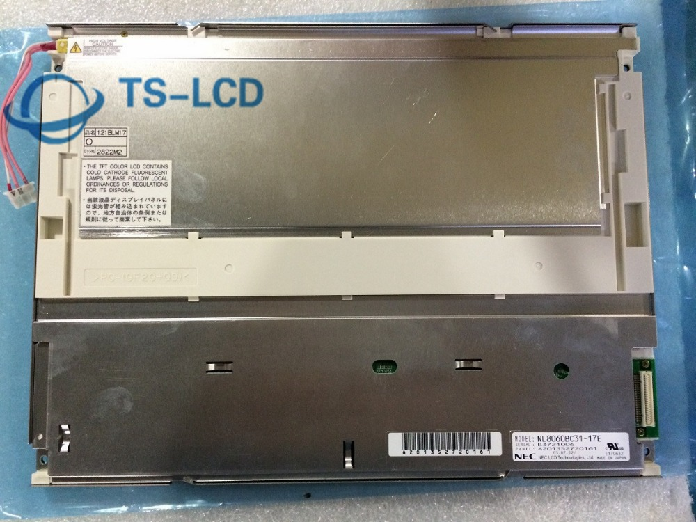100% TESTING Original A+ Grade NL8060BC31 17E 12.1 inch LCD panel Screen 12 months warranty
