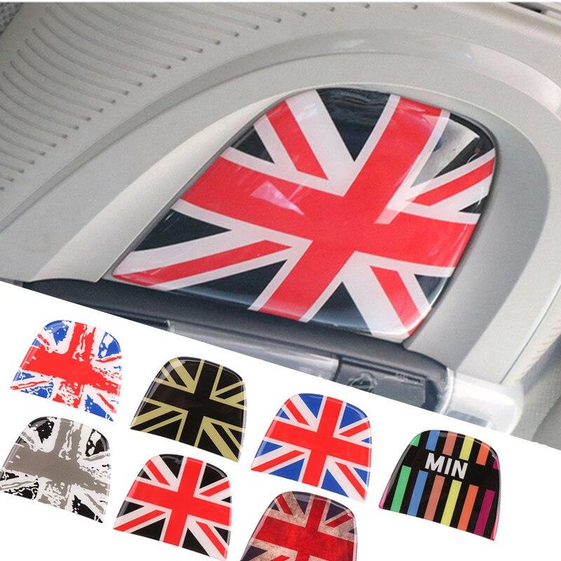 Jack Auto Innen Decke Licht Schalter Panel 3D Aufkleber Decals Dekoration Für Mini Cooper S Eine F55 F56 Auto Styling zubehör