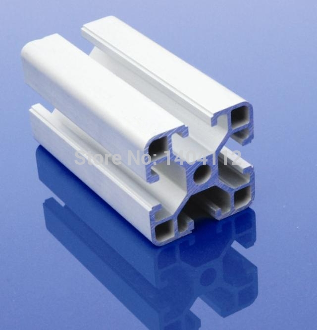Aluminum Profile Aluminum Extrusion Profile 4040 40*40 commonly used in assembling device frame, table and display stand