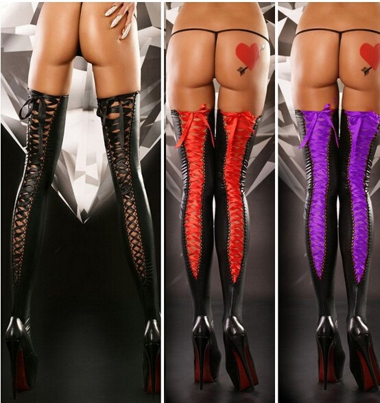 """Buy 2017 Sexy Pvc Leather Lingerie Hot!!Latex Lingerie""""Sexy Leather pants""""Sexy/Erotic/Babydoll/Teddy/Lingerie."""