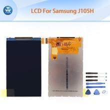 Black LCD for Samsung J1 Mini 2016 J105 J105H LCD display screen pantalla cellphone repair parts replacement mobile LCD+tools