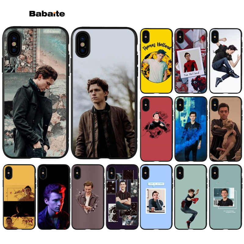 Babaite Tom Holland Top Detailed Popular Cell Phone Case Cover for iPhone 6 6s 8 8Plus 5 5S SE 7 7plus XRX XS MAX