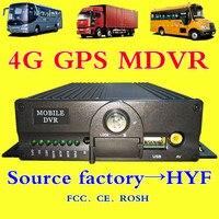 Источник оптовая продажа с фабрики 4 г gps удаленного видео пожарная машина sd карты хост мониторинга AHD960P pixel 4CH MDVR удаленного отслеживания мес