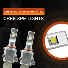 Eurs 48 Вт 9600lm H4 H7 H9 H11 HB3/9005 HB4/9006 H1 9012 csp xhp50 фар автомобиля автомобильной лампы фары противотуманные свет лампы