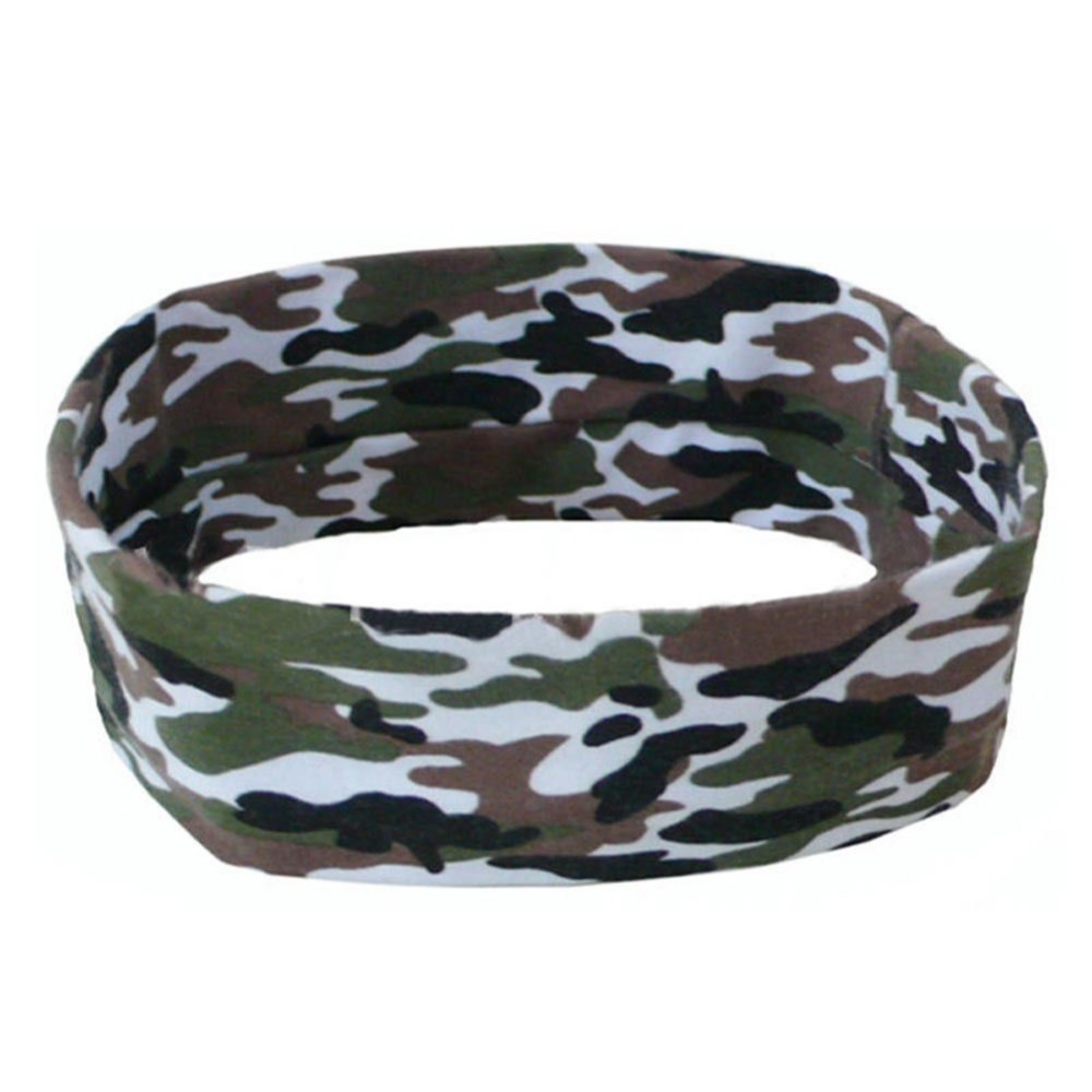 1PC New Fashion Sport Sweatband Headband Yoga Gym Stretch Printed Colorful Band Hair Accessories For Man/Women