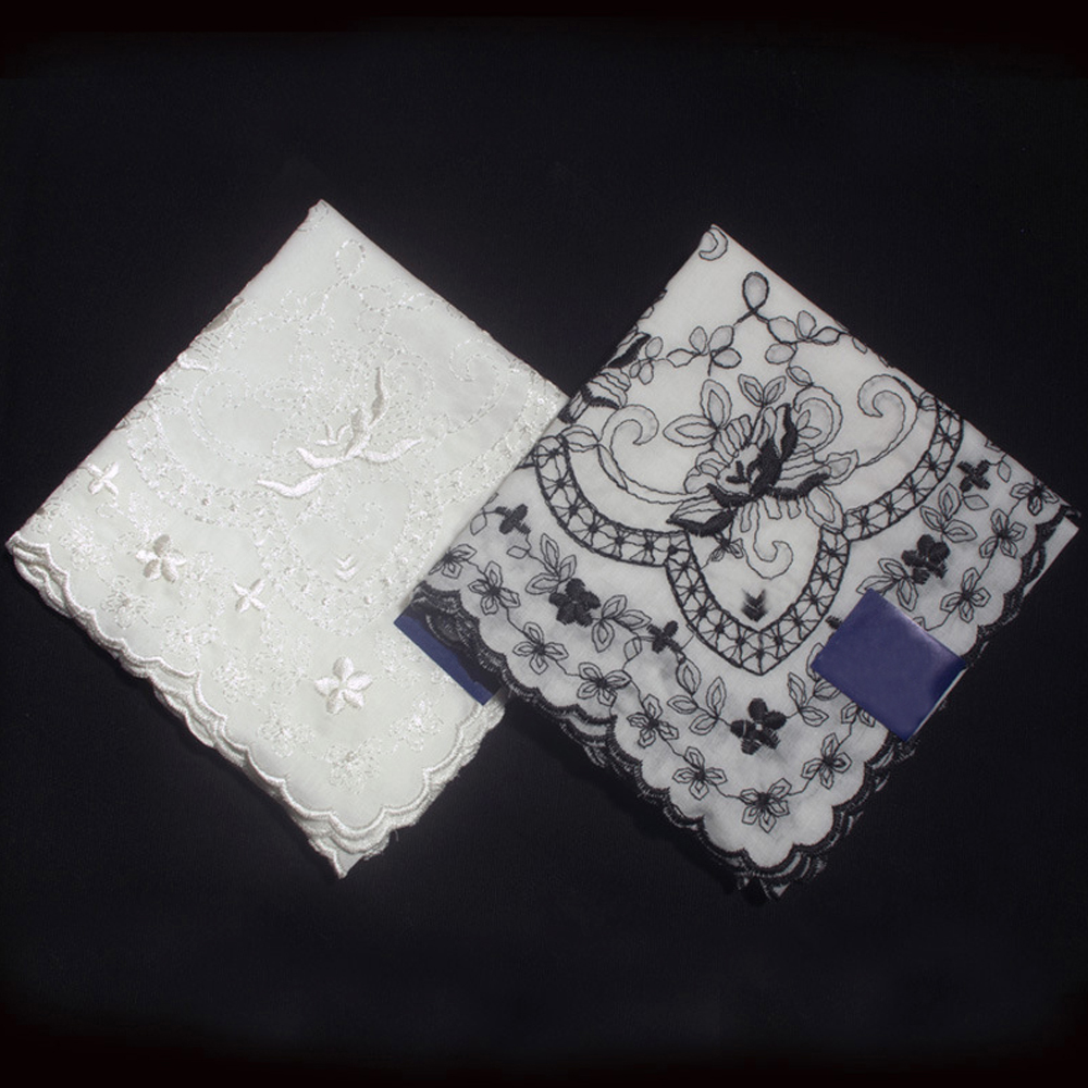 Compare prices on embroidery handkerchiefs online