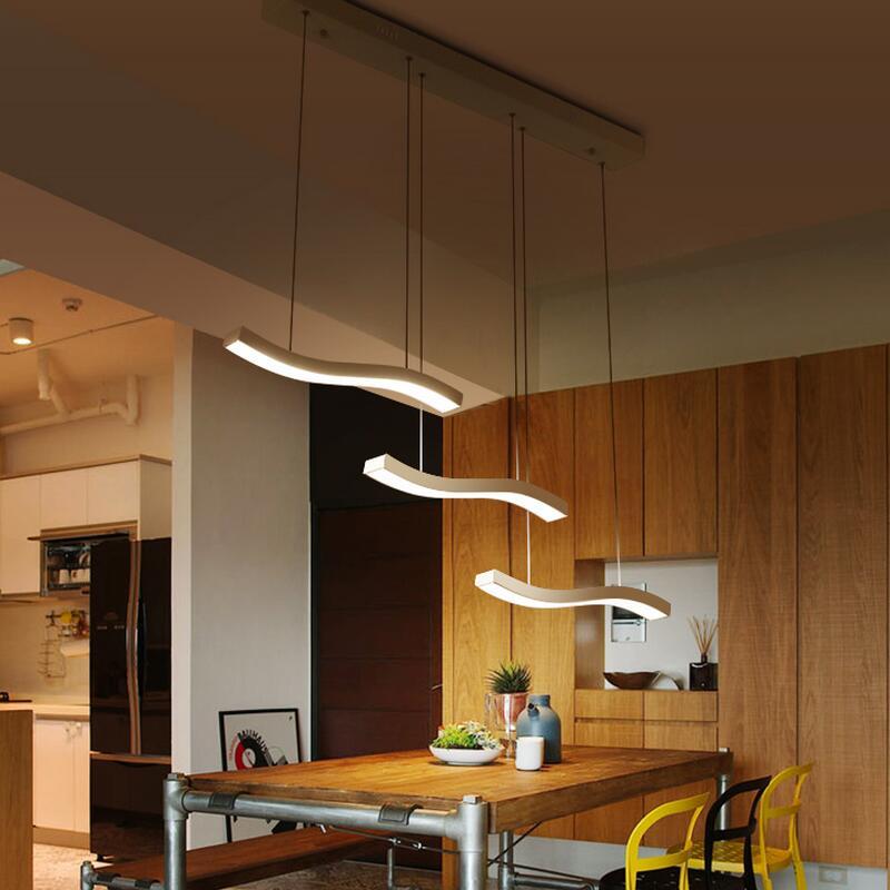 Led Modern Chandelier Lighting Dining Room Fashion DIY Creative Simplicity 110V 220V Home Chandeliers Lamp Bedroom Living In From Lights