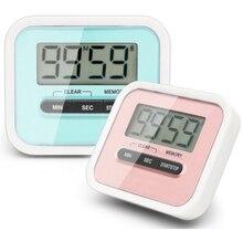 5a7c598fa Gran pantalla LCD temporizador de cocina hogar vida útil práctica uso  Digital electrónico cocina temporizador cronómetro