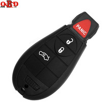 HKOBDII 3+1 Buttons For Jeep Fobik Smart Remote key For Chrysler 433Mhz M3N5W783, IYZ-C01C+PCF7941 Chip