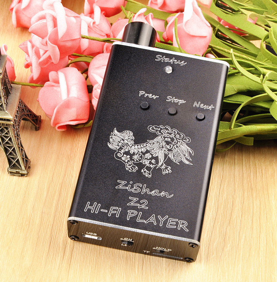 Wooeasy DIY MP3 Zishan Z2 Player Verlustfreie Musik MP3 HiFi Musik-player Unterstützung Kopfhörer Verstärker DAC AK4490 Z1 Upgrade-VERSION