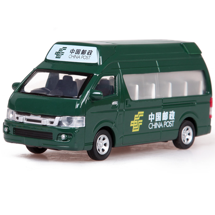 Mail car express delivery car school bus microbiotic acoustooptical WARRIOR alloy car model toy car