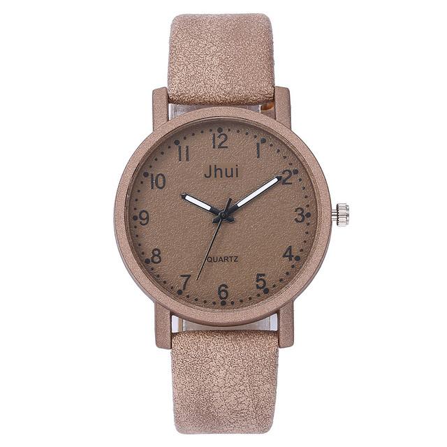 Women's Casual Quartz Leather Band New Strap Watch Analog Wrist Rose Gold Women Watch Steel Luxury Ladies Watch Creative NewA40