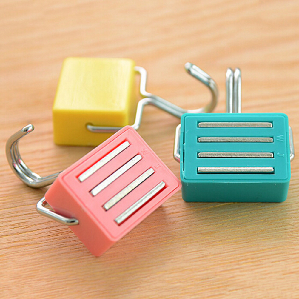 Hot Super Suction Magnetic Hooks To Hang Free Microwave Refrigerator Trace Nail