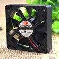Livre Delivery.6015 6 cm poder 12 v 0.06 ventilador ultra-silencioso de refrigeração fãs CHB6012AS