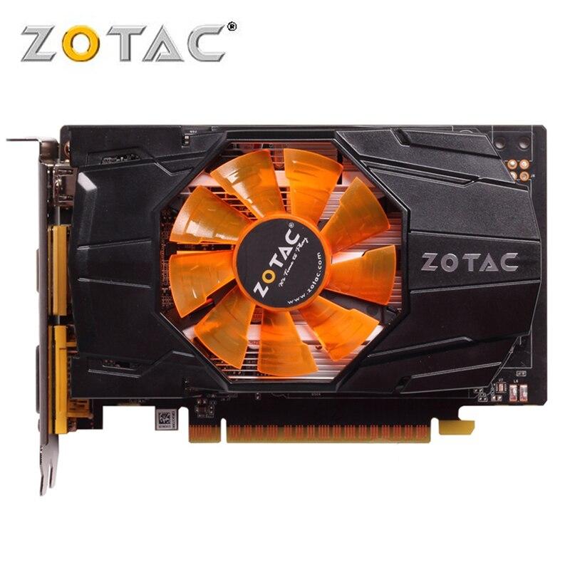 ZOTAC Video Card GeForce GTX 650 1GB 128Bit GDDR5 Graphics Cards For NVIDIA Original GTX650 Internet