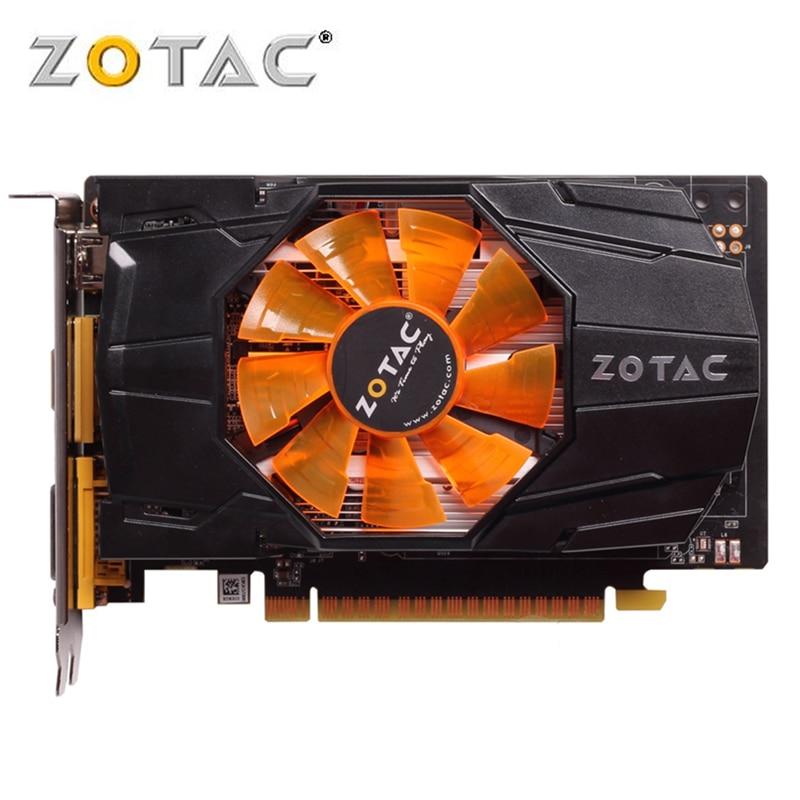 цена ZOTAC Video Card GeForce GTX 650 1GB 128Bit GDDR5 Graphics Cards for nVIDIA Original GTX650 Internet edition 1GD5 Hdmi Dvi VGA