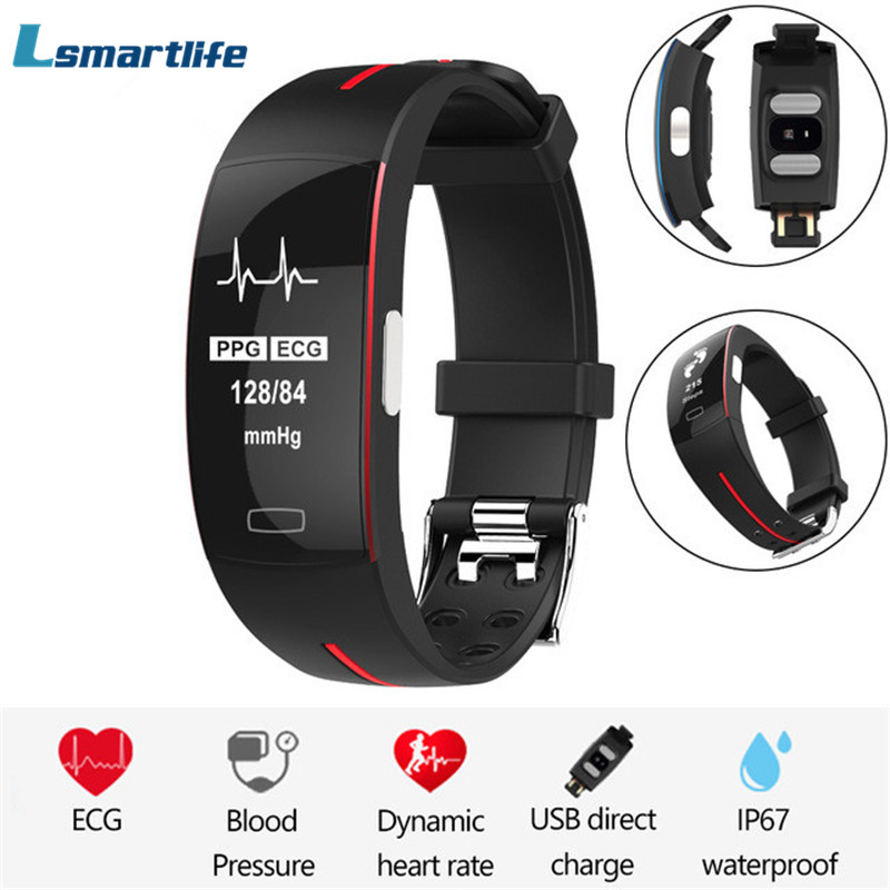 P3 Heart Rate Smart Band IP67 waterpoof Activity Tracker Sport Fitness Bracelet Heart Rate Blood Pressure