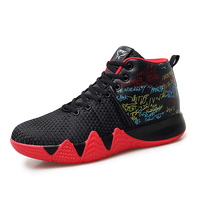 Man Light Jordan Basketball Shoes Breathable Anti slip Basketball Sneakers Men Lace up Sports Gym Ankle Boots Shoes Basket Homme