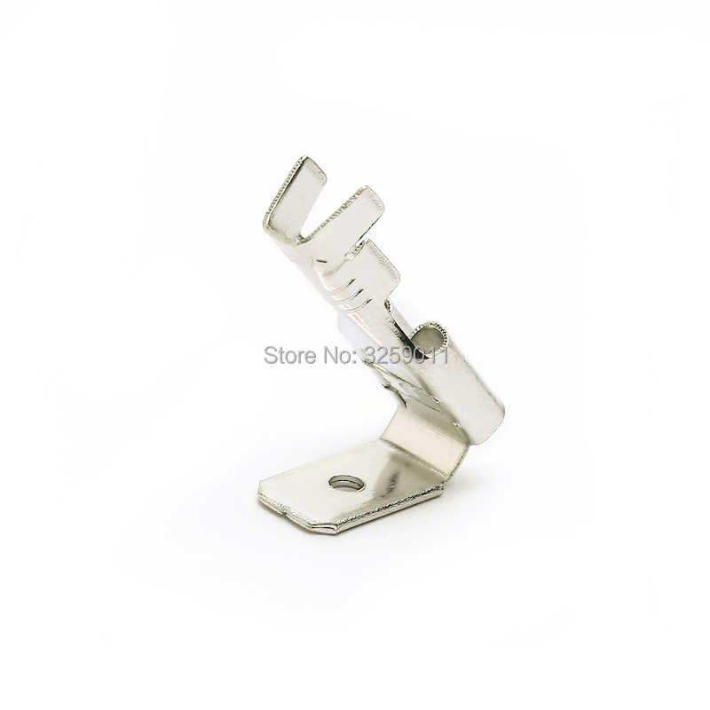1 pcs 20-14 Gauge AWG Non Insulated Piggy Kembali Spade Crimp Terminal Konektor Listrik 6.3mm Cepat Splice perak