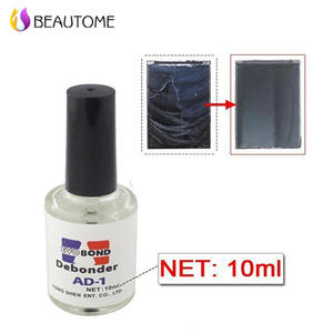 b155fb93be8 1 pcs 10 ML Debonder Nail Polish Cleaner Pro Liquid Optic Clear Adhesive UV  Glue