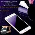 5 unids/lote ultra fino suave nano a prueba de explosiones protector de pantalla de cine de protección para el iphone 7 7 plus 6 6 s 6 más 5 5S película a la venta