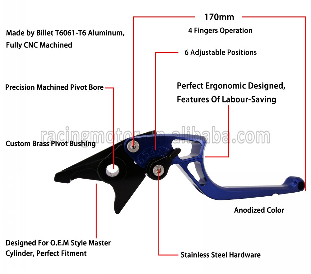 Buy New Arrived Ergonomic Cnc Adjustable Right Kawasaki Zzr 1200 Wiring Diagram Angled 170mm Brake Clutch Lever For Zzr1200 2002 2003 2004 2005 From Reliable