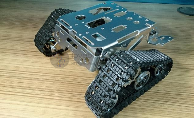 DIY tracked robot & RC tank parts TKC 1 crawler chassis diy tracked robot