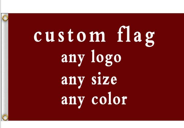 New fashion custom flag any size company advertisement flags and banners 3x5 FT