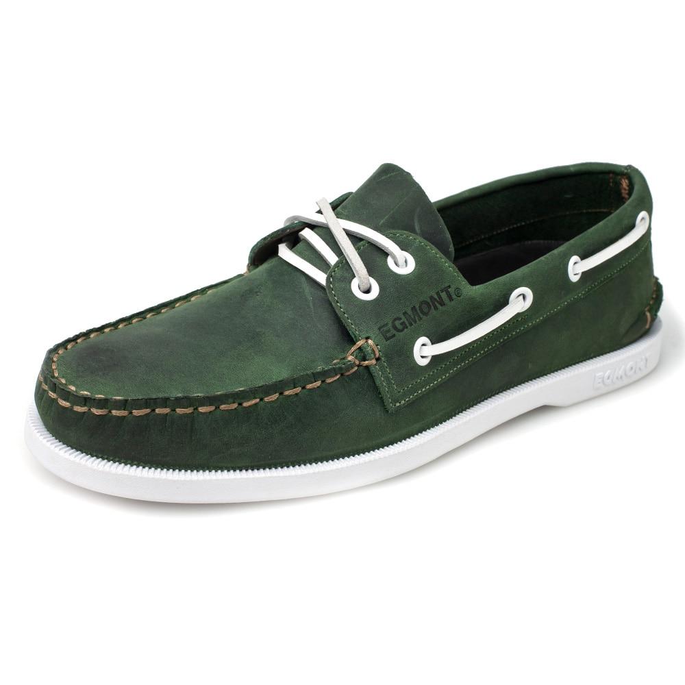 Dk Mens Green Egmont Respirável 09 De Genuíno Couro Eg Nubuck Handmade Barco Primavera Confortável Verão Sapatos Verde Casuais SEEzwq