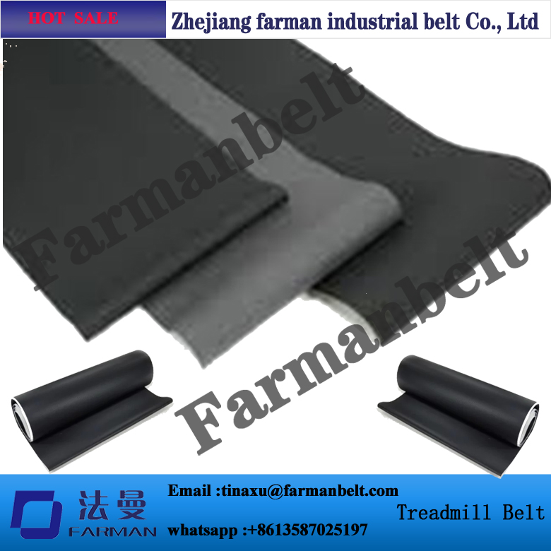 China Pvc Treadmill Walking conveyor belt/Running conveyor belt pvc treadmill running belt exercise diamond pattern black color treadmill belt