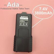 Высокая Производительность BaoFeng УФ-5R Батареи 7.4 В 3800 мАч Для Радио Портативной Рации BaoFeng Аксессуары