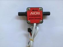 """Sensor de flujo de aceite de gasolina, medidor de Control de flujo, G3/8 """"OF05ZAT, envío gratis"""
