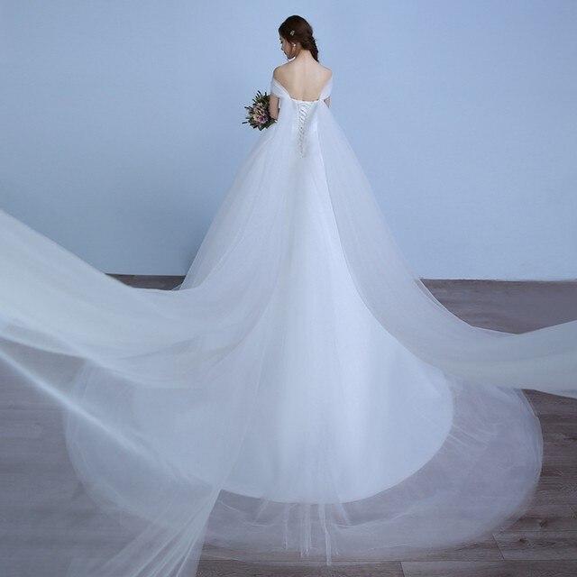 Online Shop Beauty Emily Pure White Lace Wedding Dresses 2017 Simple ...