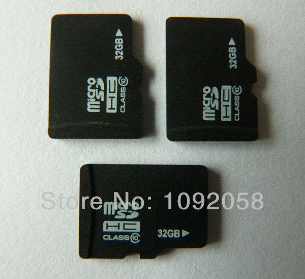 Полную мощность microsd карты 32 ГБ класс 10 HCSD Карты Флэш-Памяти TF Card + Бесплатная Адаптер + Бесплатная доставка