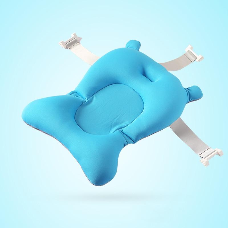 Foldable Newborn Baby Bath Tub Baby Float Bath Mat Seat Bionic ...