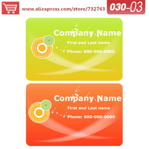 0030 03 business card template for online business cards printing ...
