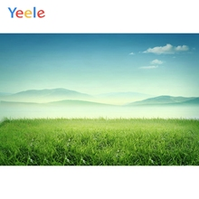 Yeele Vinyl Green Grass Scenery Children Birthday Party Photography Background Wedding Love Photocall Backdrop Photo Studio
