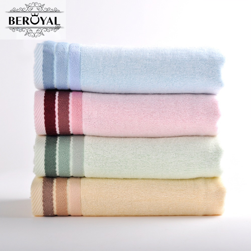 Personalized Embroidered Bamboo Bath Towel 1PC 70x140cm 28  55   Soft  Antibacterial Bath Towels for Adult Gift Towel 080015