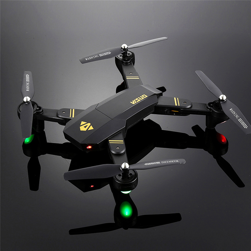 Foldable Racing Drone with FPV Wide Angle HD Camera Altitude Hold RC Quadcopter Helicopter VS VISUO XS809W XS809HW H37 H47 Dron