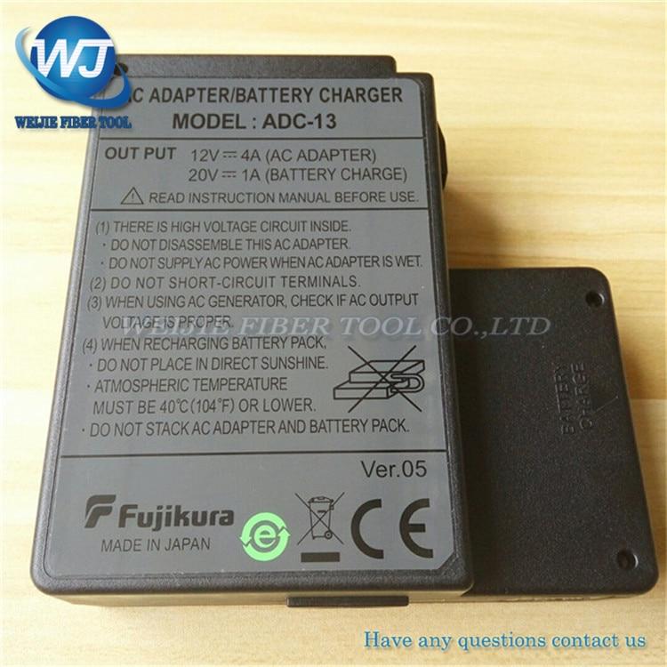 Orginal Fujikura ADC-13 AC adapter for Fujikura FSM-60S FSM-60R FSM-18S FSM-18R fusion splicer Battery Charger AdapterOrginal Fujikura ADC-13 AC adapter for Fujikura FSM-60S FSM-60R FSM-18S FSM-18R fusion splicer Battery Charger Adapter