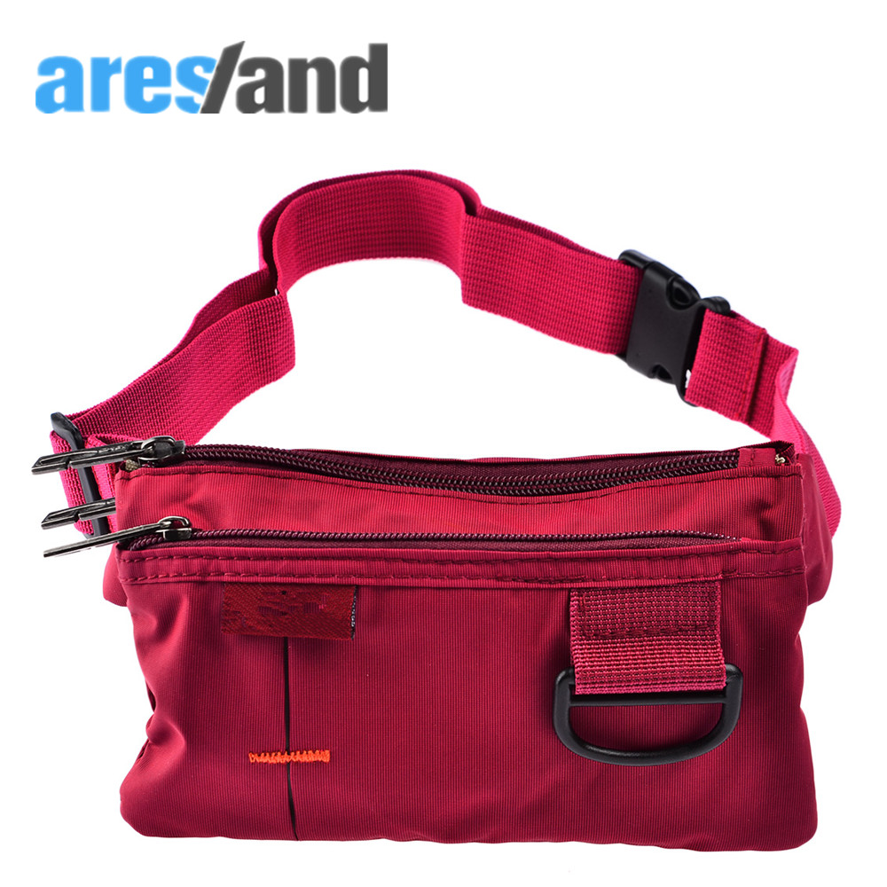 ARESLAND Women Waist Pack Bag Casual Daily Coin Bag Men women Travel Belt Bag Phone Pouch Fanny Pack Ladies Male Small Clip сумка newswear small fanny pack
