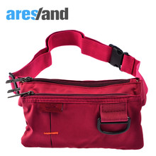 ARESLANDWaist Bag Women Waist Pack Casual Daily Coin Bag Men Travel Belt Bag Phone Pouch Fanny Pack Ladies Male withSmall D Clip
