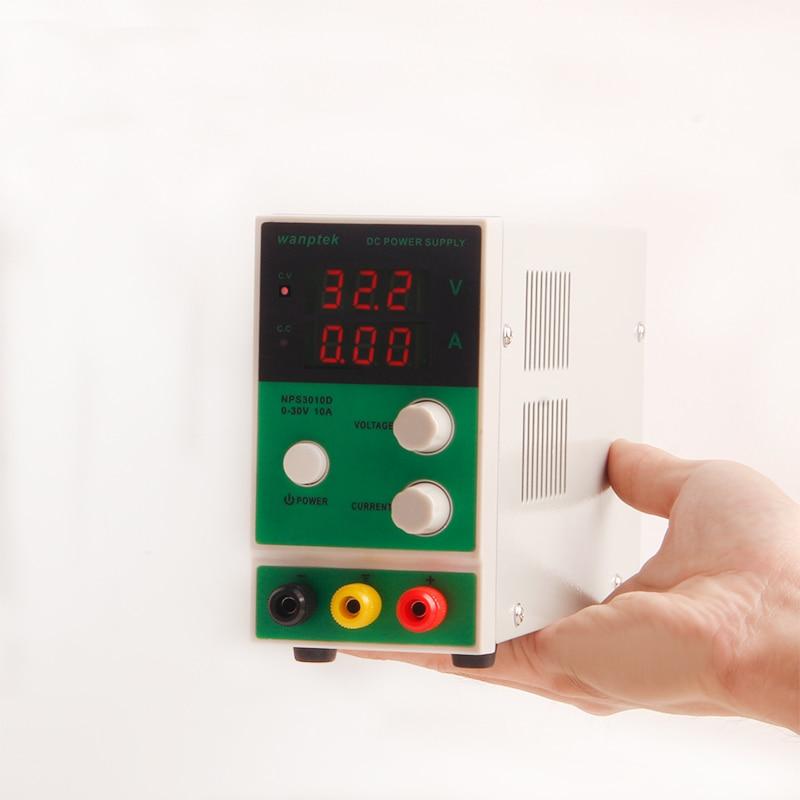 Wanptek NPS3010D DC power supply 0 30V 0 10A Digital Voltage Regulator laboratory power source adjustable dc power supply