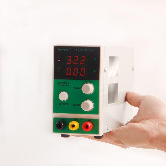 Wanptek NPS3010D DC power supply 0-30V 0-10A Digital Voltage Regulator laboratory power source adjustable dc power supply