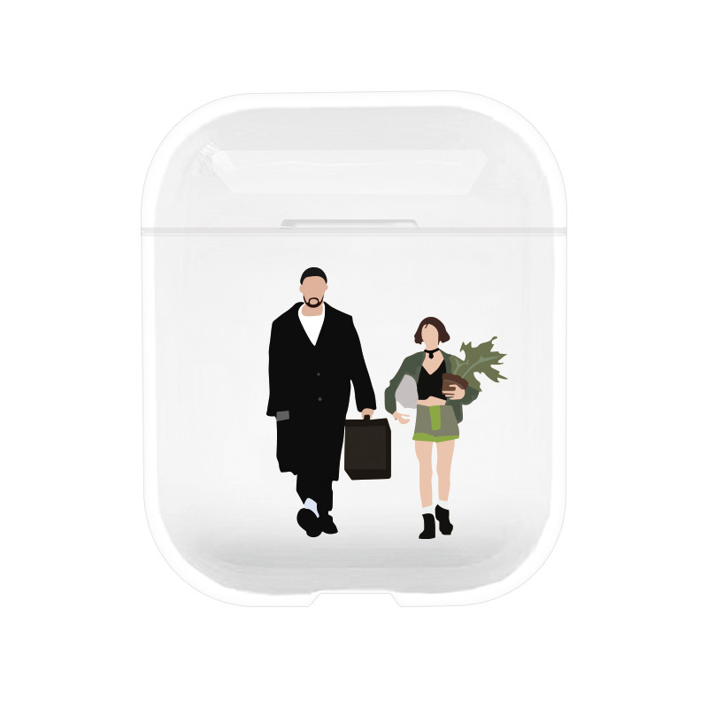 Protective Case for airpods Leon Earphone Case For AirPods Cover The Professional Earphone covers for Apple Airpods Hard Case-in Earphone Accessories from Consumer Electronics