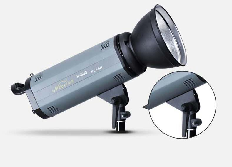 Nicefoto Studio Flash K-600, 600WS With Digital Display,Suit for Wedding,Advertisement,Portrait Photography