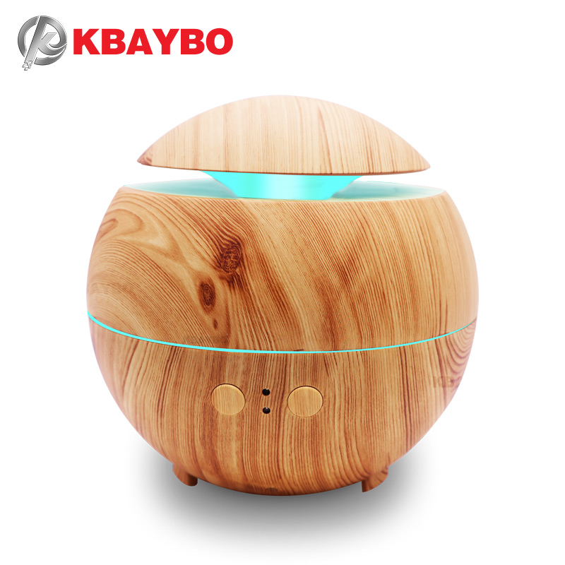 600ml Aroma Essential Oil Diffuser Ultrasonic Cool Mist Humidifier Air Purifier 7 Color Change LED Night light for Office Home usb aroma essential oil diffuser ultrasonic cool mist humidifier air purifier led night light for office home air diffuser